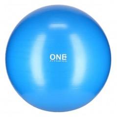 Gym Ball 10 ONE Fitness, 75 cm, modrá
