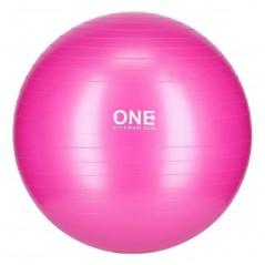 Gym Ball 10 ONE Fitness, 55 cm, ružová