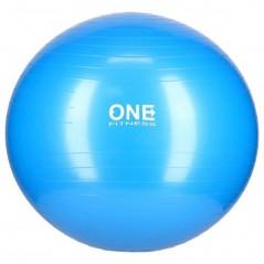 Gym Ball 10 ONE Fitness, 65 cm, modrá
