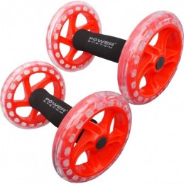 Twin Core Ab Wheel Power System