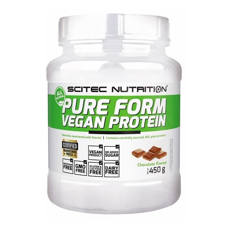 Pure Form Vegan Protein Scitec Nutrition, 450 g