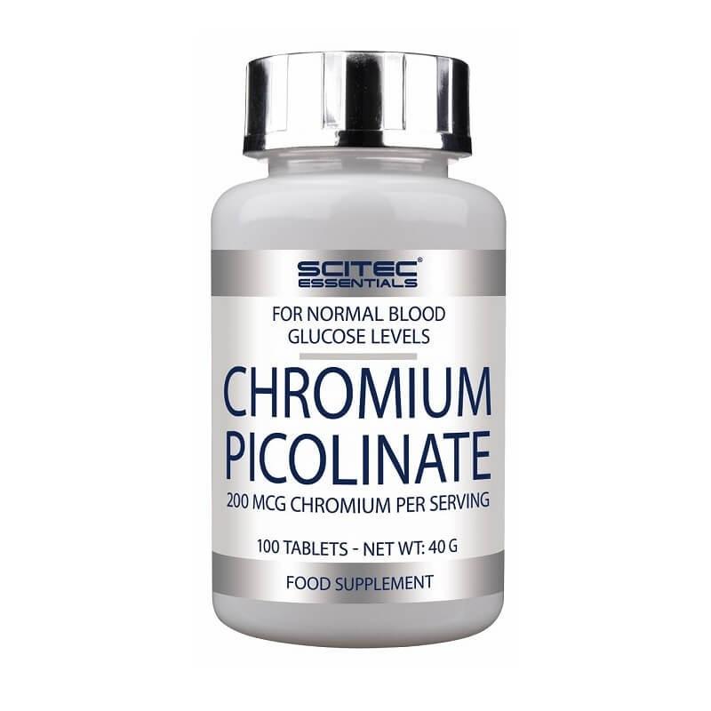 Chromium Picolinate Scitec Nutrition, 100 tbl