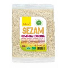 BIO Sezamové semienka lúpané Wolfberry, 200 g