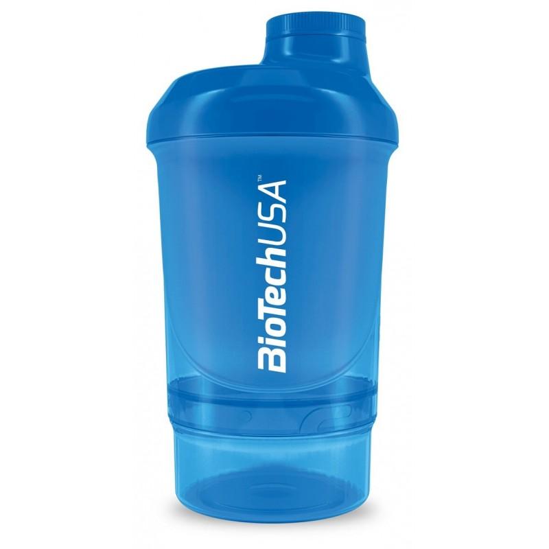Šejker NANO BioTechUSA, 300 ml + 150 ml