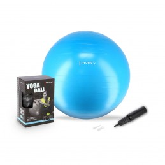 Gymnastická lopta YB01 HMS, 75 cm, modrá
