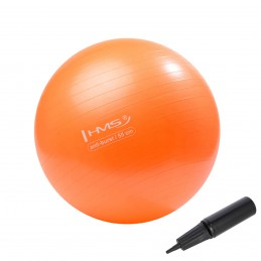 Gymnastická lopta YB02 HMS, 55 cm, oranžová